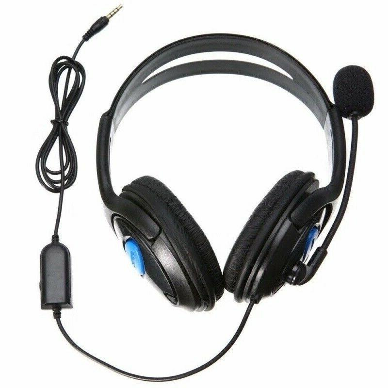 Wired Stereo Bass Gaming for New Xbox One with Mic