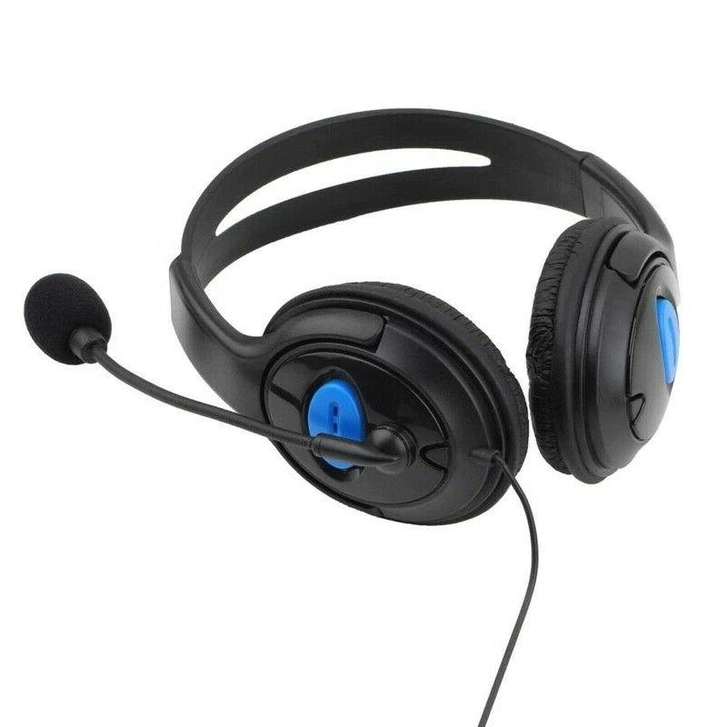 Wired Surround Gaming Headset PS4 New with Mic