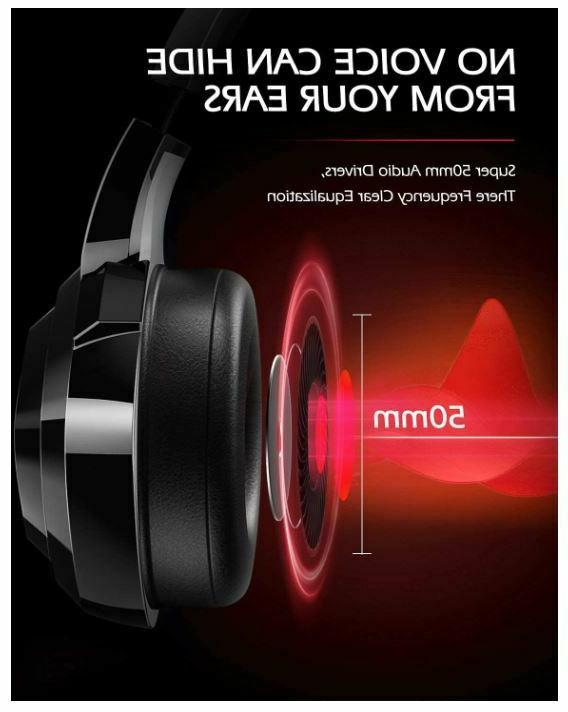 ZIUMIER Gaming Headset One PS4 with Noise Canceling
