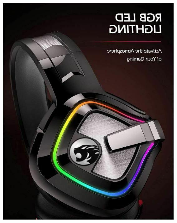 ZIUMIER Gaming Headset One with Canceling Mic
