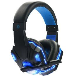 Led Gaming Headset With Mic For PC Xbox PS4 Headphones 3.5mm