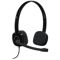 New Lightweight and Adjustable Logitech H151 with 3.5 mm jac