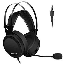 Lightweight PS4 Xbox One Gaming Headset Stereo with Micropho