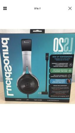 LucidSound LS20 Gaming Headset - Amplified Universal Wired O