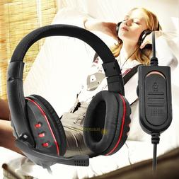 Luxury Universal Wired Pro Gaming Headset Headphone with MIC