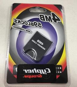 NEW-4MB Memory Card for Wii GC