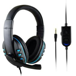 Men Boys Gaming Headset Voice Control Wired HI-FI Sound Qual