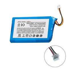 MPF Products 1000mAh 533-000132 Battery Replacement Compatib
