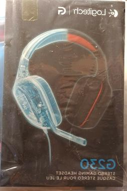 New Logitech G230 HD Stereo Gaming Headset w/ Mic and In-Lin