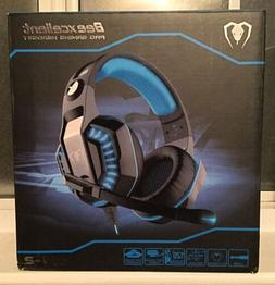 New In Box Beexcellent GM-2 Pro Gaming Over-Ear Headset Red/