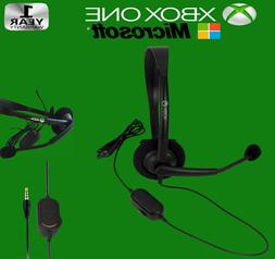New OFFICIAL Microsoft XBOX ONE Gaming Wired Headset 3mm Jac