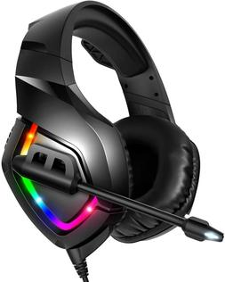 NEW RUNMUS Gaming Headset PS4/XBOX ONE Headset with 7.1 Surr