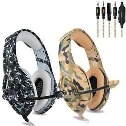 New Stereo Bass Surround Gaming Headset for PS4 New Xbox One