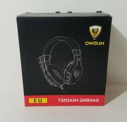 NEW NUBWO U3 3.5mm Gaming Headset for PC PS4 Laptop Xbox One