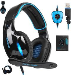 New Update Gaming Headset 7 1 Surround Sound With Mic Over E