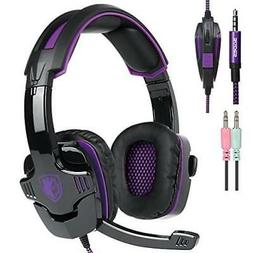 New Xbox One Ps4 Gaming Headset With Mic Volume Control Sade