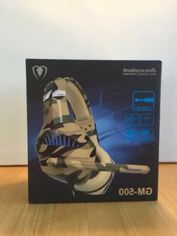 NIB Beexcellent Gaming Headset for PS4 Xbox One PC, Deep Bas