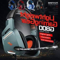 For Nintendo PC XBOX One PS4 Gaming Headset Stereo Mic Headp