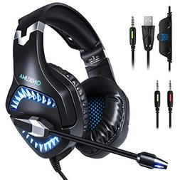 iSkylie ONIKUMA K1Pro Stereo Gaming Headset Gaming Noise Can