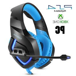 PC Gaming Headset Stereo PS4 New Xbox One X Nintendo Switch