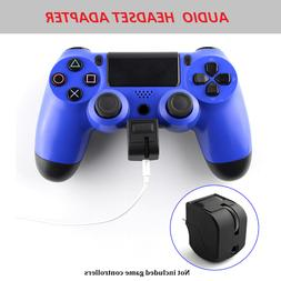 Playstation 4 Audio Headset Adapter PS4 VR Gaming Accessorie