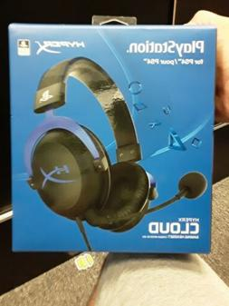 Playstation HyperX Cloud Pro Black/Blue Gaming Headset for S