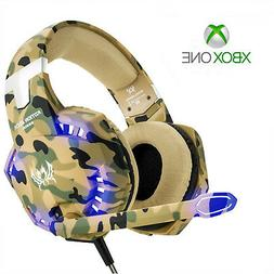 Pro Gamer Camo Xbox One Gaming Headset for Latest Xbox One C