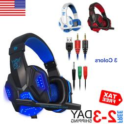 Pro Gaming Headphone PC Laptop PS4 XBox One Smartphon Headse