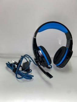 KOTION EACH Pro Gaming Headset G9000 Black/Blue Noise Reduct