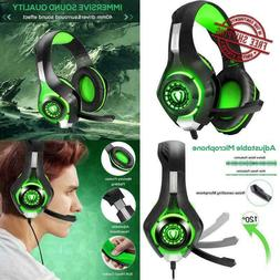 Pro Gaming Headset w Mic Headphones Microphone for XBOX One