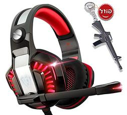 Gaming Headset for Xbox One,PS4,PC,Laptop,Tablet with Mic,Pr