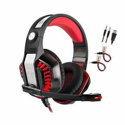 Professional PC Gaming Headset with Mic for PS4, Xbox One, P