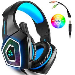 Gaming Headset for Xbox One, PS4, Nintendo Switch, PC, Game