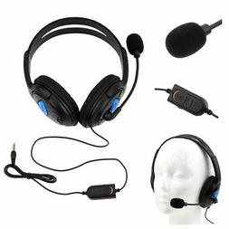 PS4 Gaming Headset Headphones Wired with Microphone for Sony