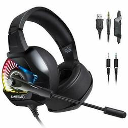 PS4 Gaming Headset with Mic for PC, Xbox One S, Laptop, Mac,