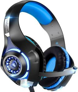 PS4 Gaming Headset with Mic, Beexcellent Newest Deep Bass St