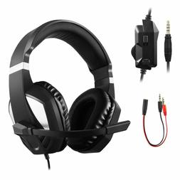 KOOTOP PS4 Gaming Headset with Mic for Xbox one, PS4, Ninten