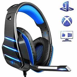 PS4 Gaming Headset With Mic Newest Deep Bass Stereo Sound Ov