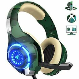 Gaming Headset with mic, Beexcellent Xbox One,PS4 Headset wi