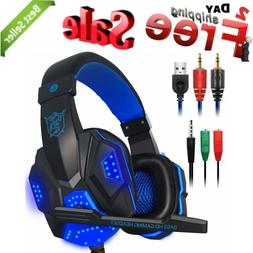 PS4 Headset Gaming Headphone with Mic PlayStation 4 Xbox One