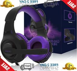 PS4 Headset PC Gaming Headsets for Xbox One - AH68 3.5mm Wir