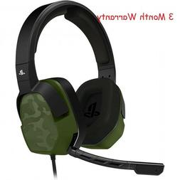 PDP PS4 LVL 3 Stereo Gaming Headset 051-032-NA-NCAM, Green C