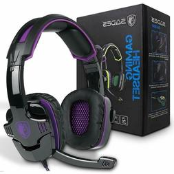 PS4 Pro Headset With Mic PlayStation 4 Headphone Wired Gamin