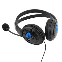 Alloet for PS4 Sony Playstation 4 /PC Wired Gaming Headsets