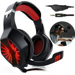 for PS4 Xbox One Nintendo Switch PC Stereo 3.5mm Wired Gamin