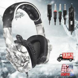 For PS4 Xbox One Nintendo Switch PC Gaming Headset Headphone