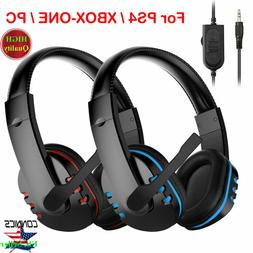 For PS4/XBOX-ONE/PC Nintendo Switch PC Stereo 3.5mm Wired Ga
