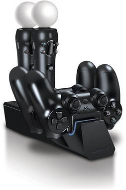 Quad Dock VR – 4-Port Charging Dock Station for Two PS4/PS