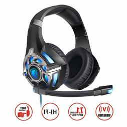SADES R16 Gaming Headset 7.1 Surround Stereo Headphones Over