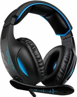 Gaming Headset for PS4 Controller,Xbox One,PC,Laptop,Mac,Tab